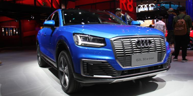 奥迪Q2L-e-tron上海车展首发