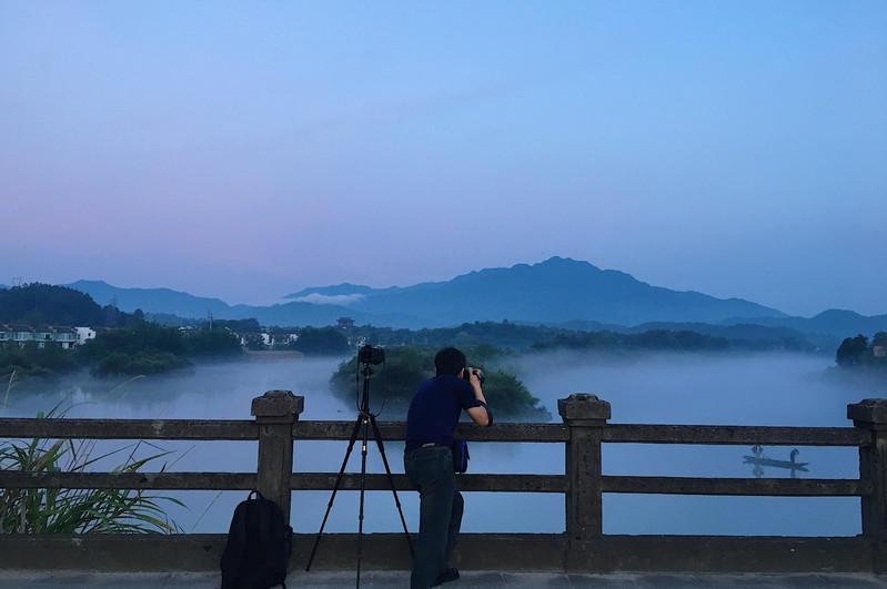 查济古村落位于安徽省宣城市泾县,安徽省南部,原有108座桥梁,108座