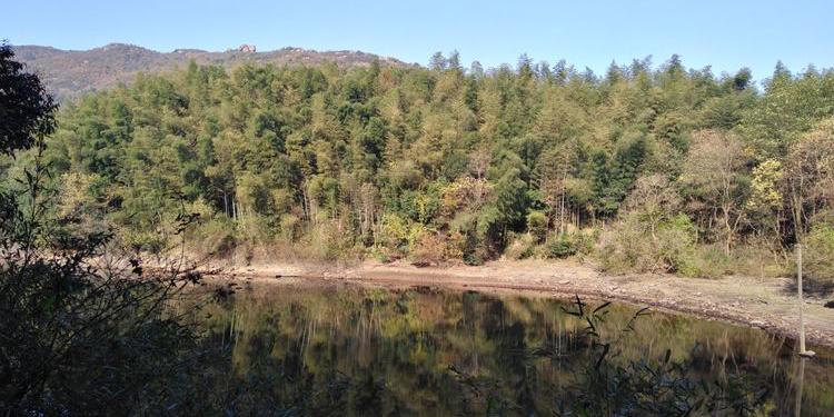 九华天池旅游景区被誉为江南的阿里山