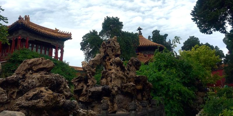 游曾经是皇帝居住的宝地——故宫。