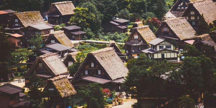 日本白川乡——最美的童话小镇
