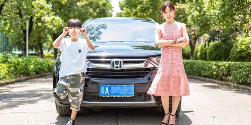 最美的季节本田CR-V邂逅美丽宝妈