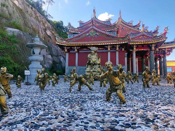 福建漳州天柱山欢乐大世界游记-极趣社区