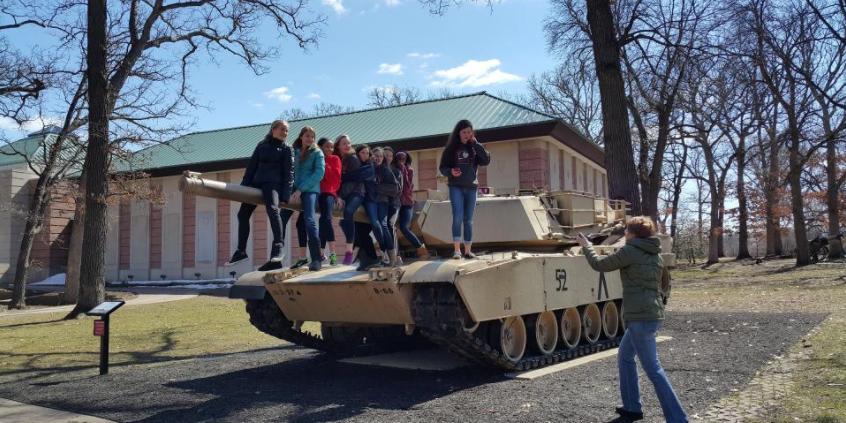 打卡美国陆军第一师军事博物馆