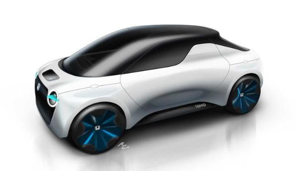 """日前,本田发布了一组全新本田Tomo概念车的预告设计图。新车是一辆纯电动的微型皮卡,由本田和都灵Istituto Europeo di Design设计公司合作完成。据悉,新车是以""""未来六年年轻人理想的交通工具""""为设计理念,并将于2019日内瓦车展正式亮相。  『本田Tomo概念车』  『本田Urban EV概念车』 从外观上看,全新本田Tomo概念车采用了与此前发布的本田Urban EV概念车相似的设计风格,圆润而小巧的车身显得甚是可爱。同时,新车在外观采用了几乎全封闭式的设计,"""