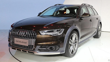 奥��_ A6 Allroad Quattro上市 售65.48万元