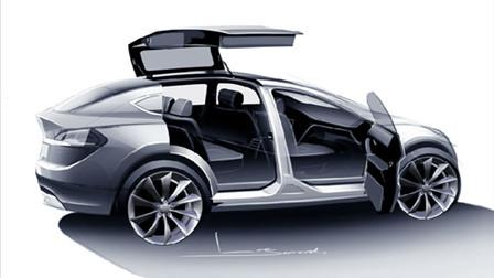 土豪新宠 特斯拉Model-X即将问世