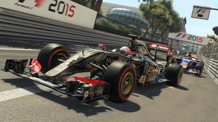 F1赛车手挑战高速穿越障碍