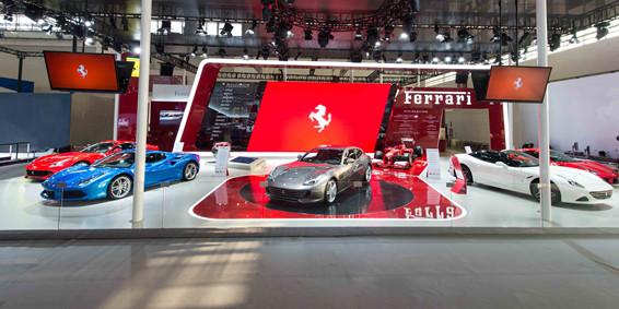 法拉利携两款重磅新车亮相北京车展