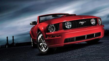 美式肌肉车之王全新福特野马