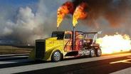 会喷火的卡车你一定没见过