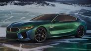 日内瓦新车抢先看之宝马M8 Gran Coupe