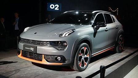 2018北京车展:领克02