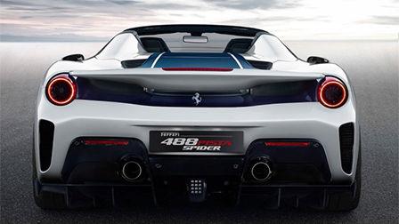 最强V8敞篷跑车-2019款法拉利488Pista