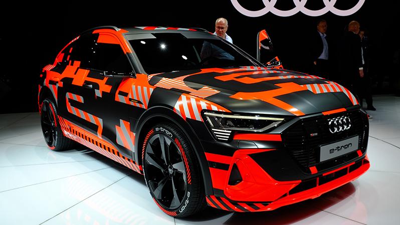 2019日内瓦车展—奥迪e-tron Sportback