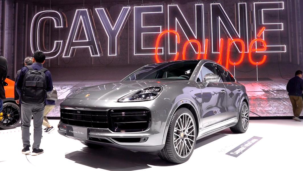 上海车展:全新Cayenne Coupe国内首秀