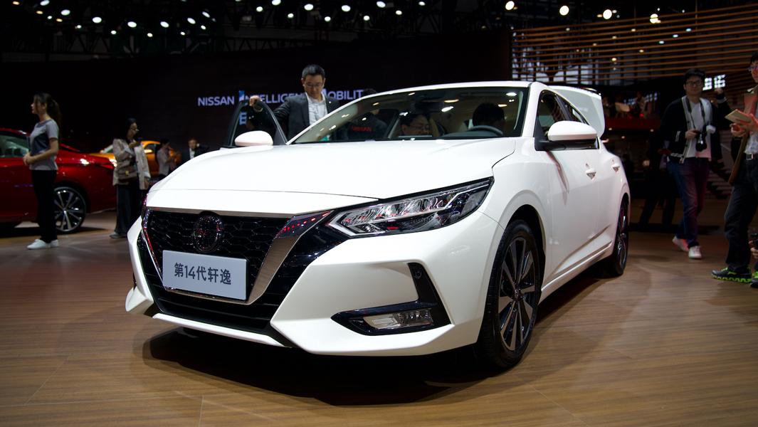 上海车展:全新一代轩逸正式首发