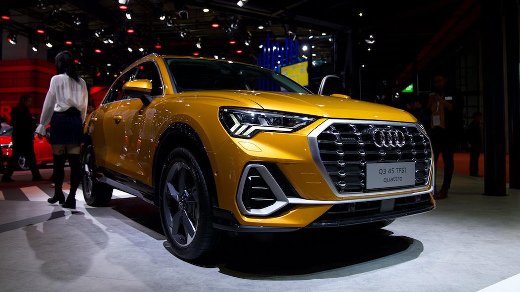 上海车展:全新一代奥迪Q3正式上市