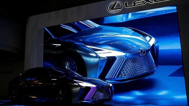 雷克萨斯概念车LS+ Concept