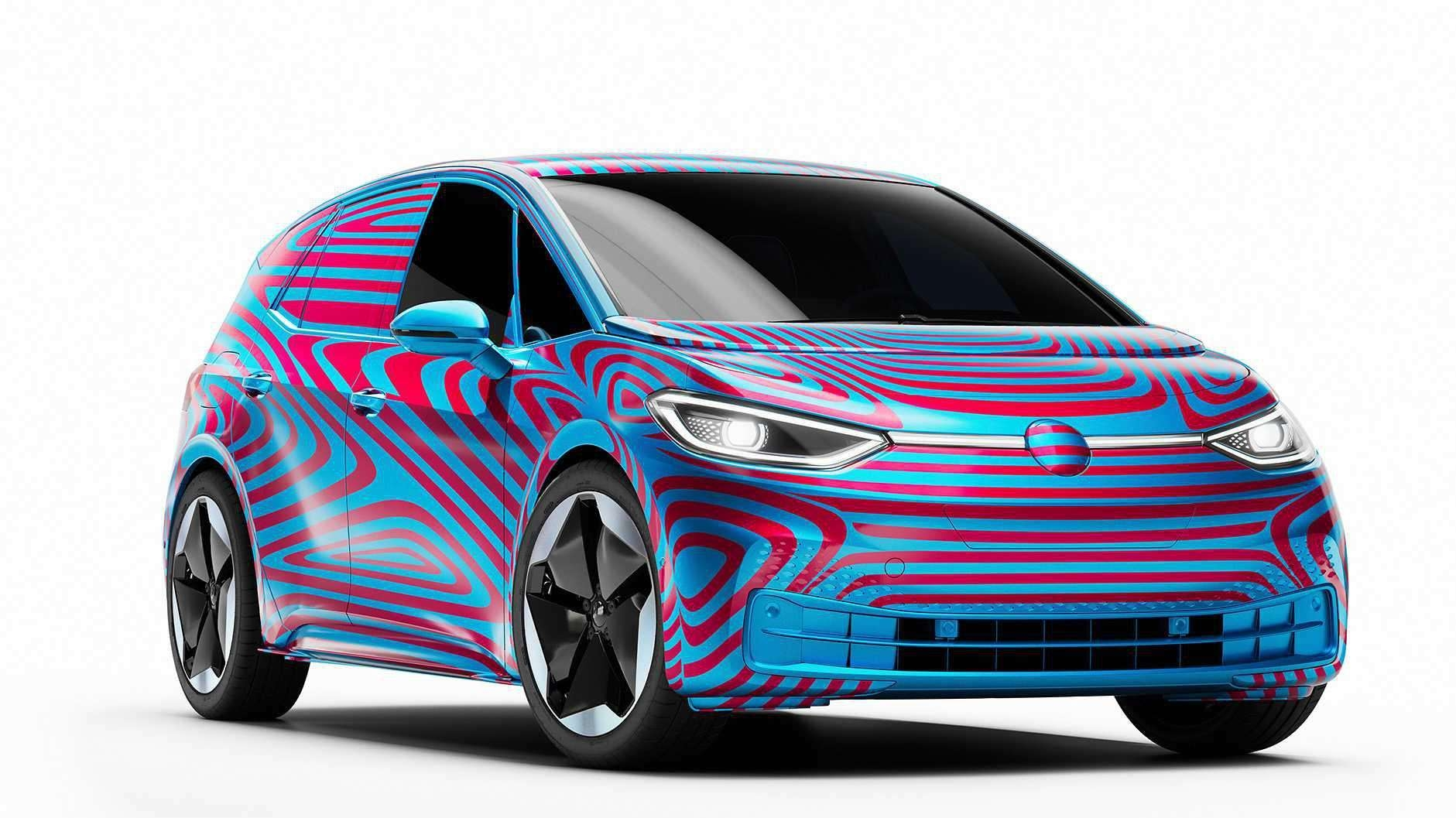 群众公布首款量产电动车ID.3