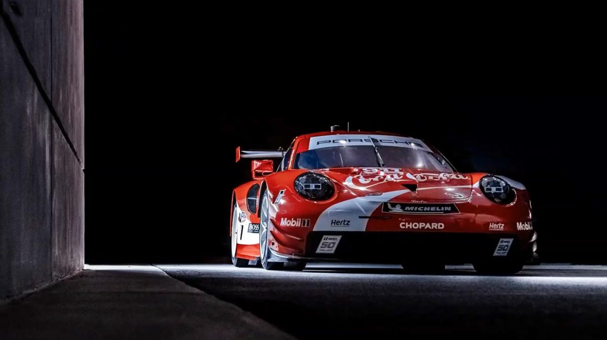 保时捷911 RSR & 可口可乐