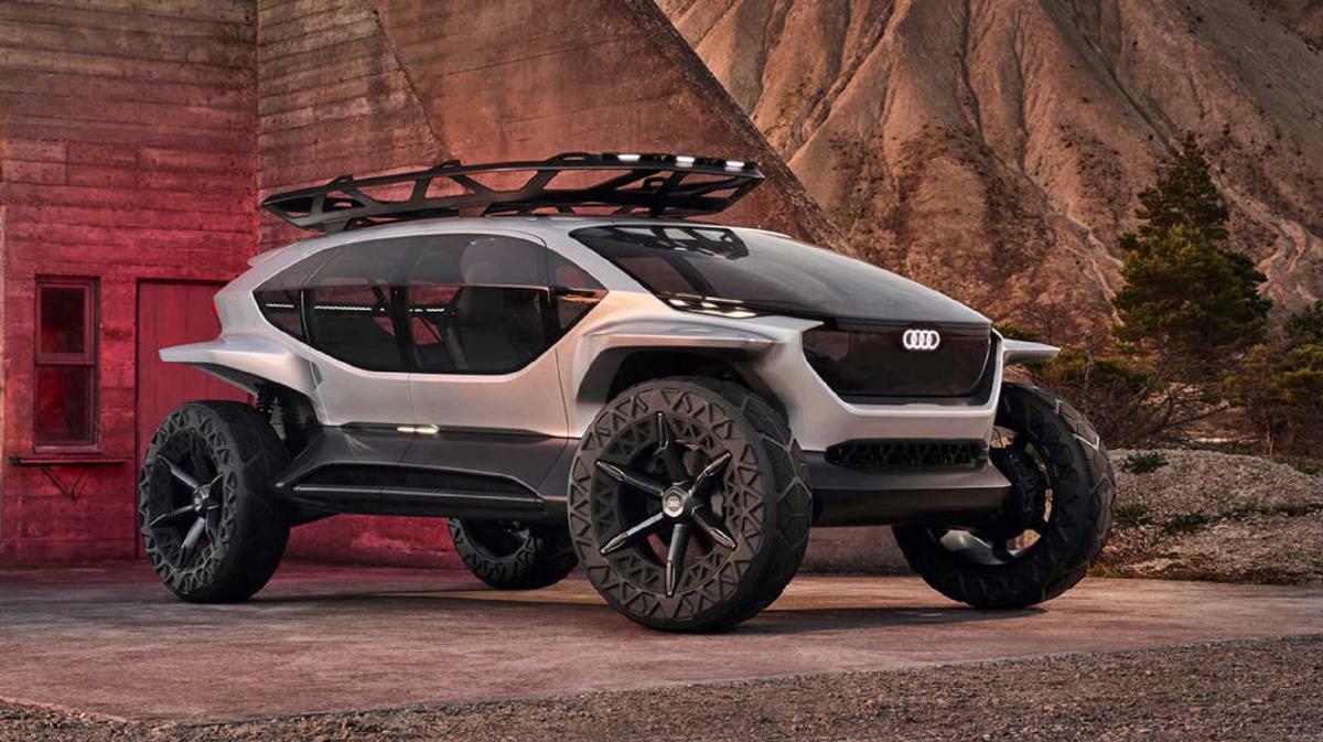 又一款可以越野的纯电动概念车