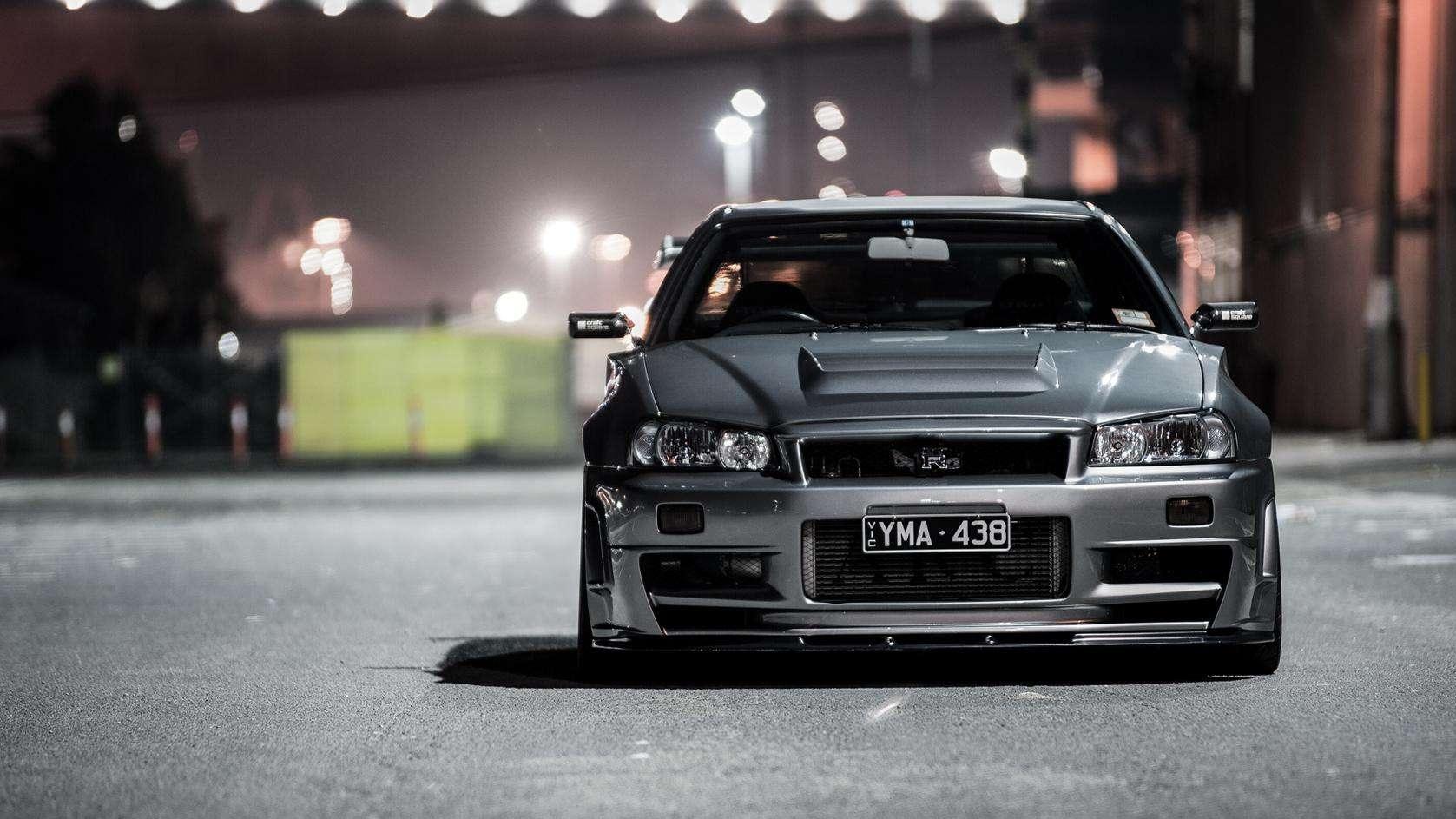 黑色GTR R34 稀货