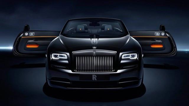 幽灵黑色徽章 一款顶级奢华的轿车!