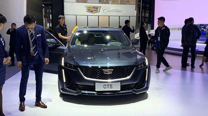 凯迪拉克CT5正式亮相 售价27.97万起