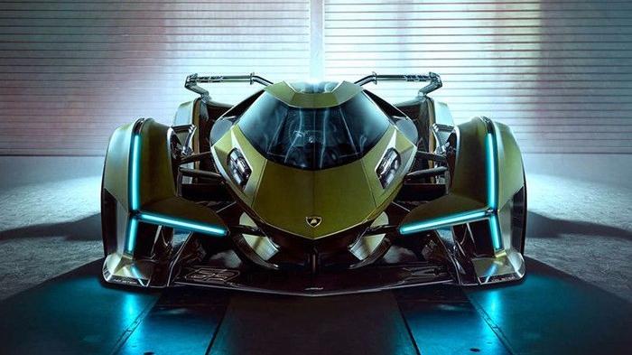 兰博基尼真的造了辆高智能方程式赛车