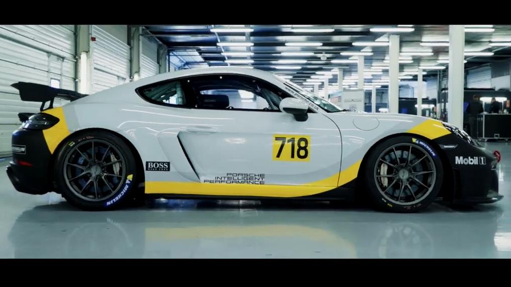 保时捷718 GT4英国冲刺挑战赛