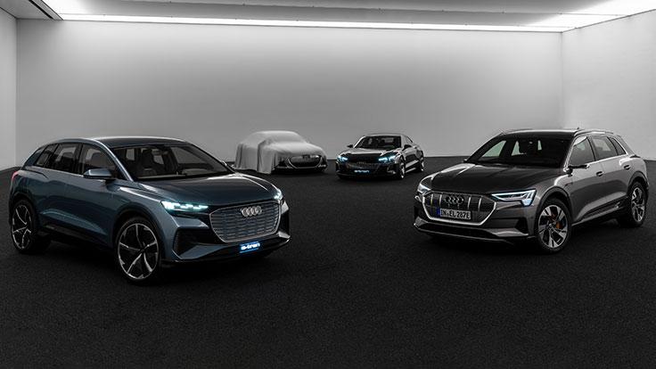 奥迪2025年将推30余款电动化车型