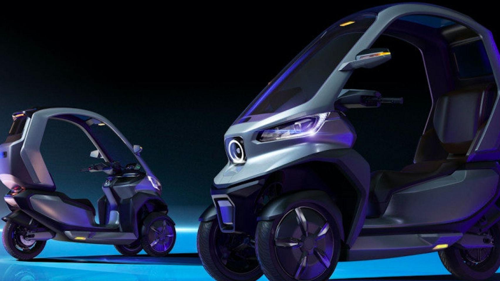 2020CES:小牛電動三輪摩托車TQi