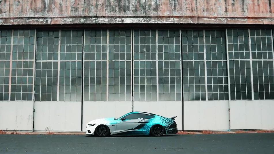S550宽体 福特野马GT