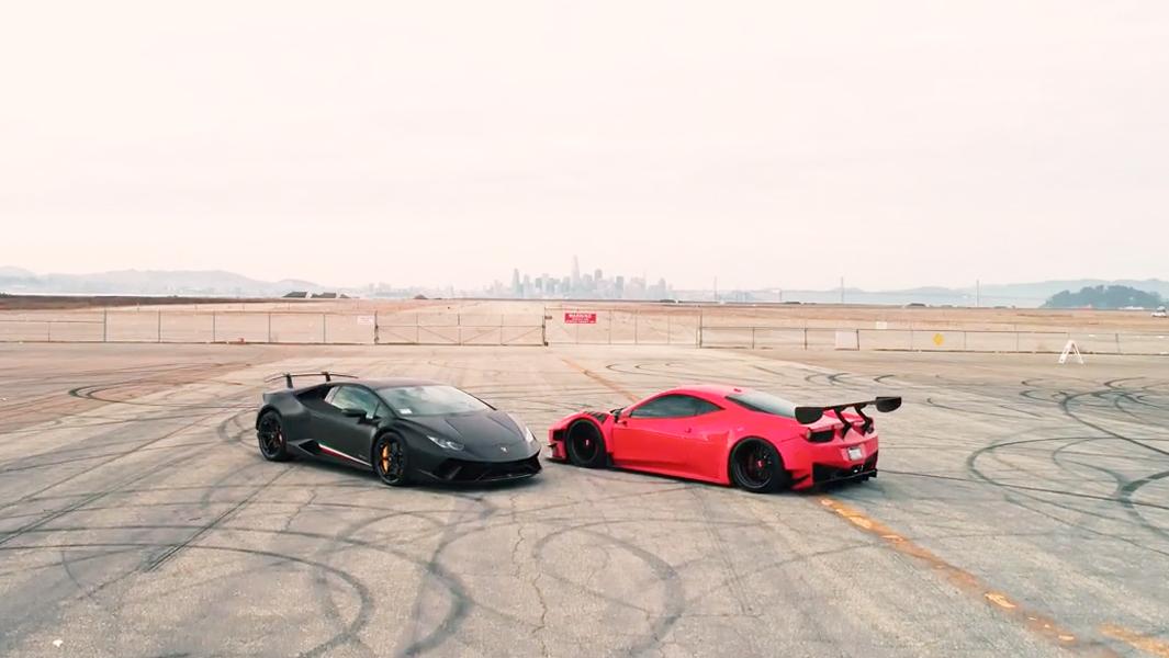 法拉利458 GT3与兰博基尼Huracan 你更喜欢哪一个?