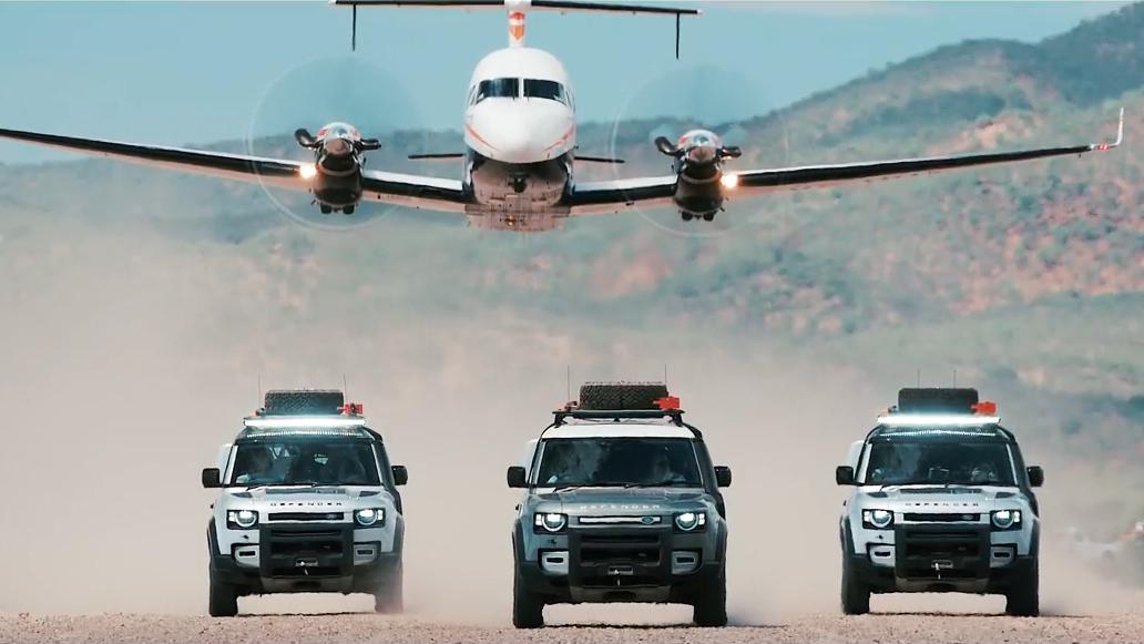 路虎新卫士 非洲纳米比亚沙漠终极冒险