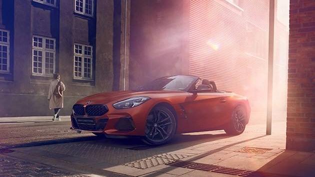 全新BMW Z4敞篷跑车烈日限量版燃情上市