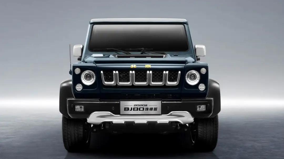 北京BJ80上市 售29.8-39.8万元