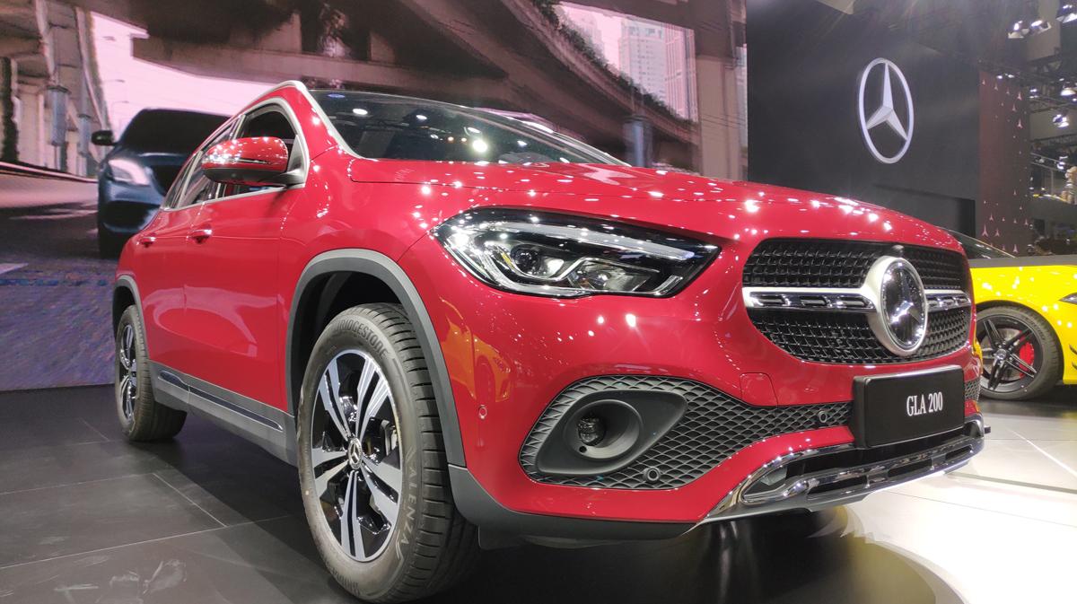 全新奔驰GLA正式上市 售价30.38万 | 2020成都车展