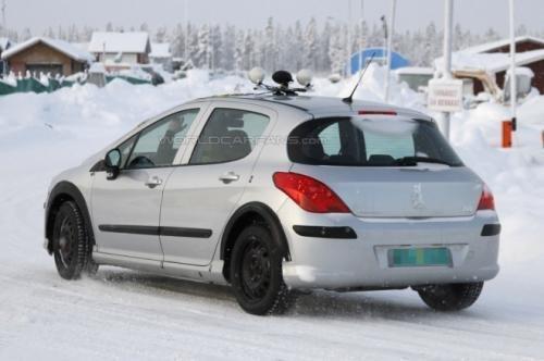 标致308换代测试车曝光 或使用301命名高清图片