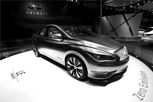 """英菲尼迪le概念车   作为一款""""以量产为导向""""的概念车,le概念高清图片"""