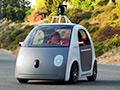 谷歌终极无人驾驶汽车 无油门刹车方向盘
