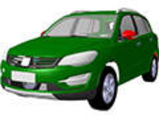 """众泰版""""途观""""SUV曝光 车型或定名T500"""