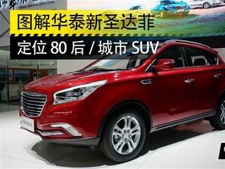 2014广州车展 华泰新圣达菲实拍图解高清图片