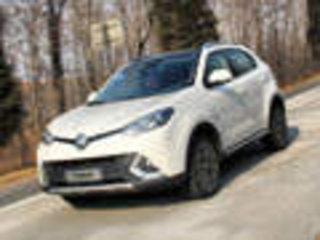 """名爵MG首款SUV""""锐腾"""" 百公里加速7.9秒"""