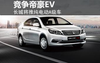 长城将推纯电动A级车 竞争吉利帝豪EV-图