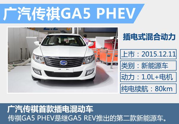 传祺GA5插电混动版上市 补贴后13.78万起
