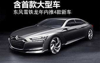 东风雪铁龙年内推4款新车 含首款大型车