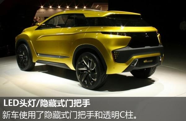 三菱推全新电动SUV概念车 续航400公里高清图片
