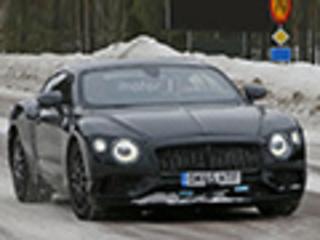 宾利全新欧陆GT配全LED头灯 明年将上市